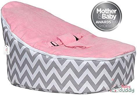 Baby Buddy Toys - Puf para bebé con 2 fundas extraíbles y arnés ...