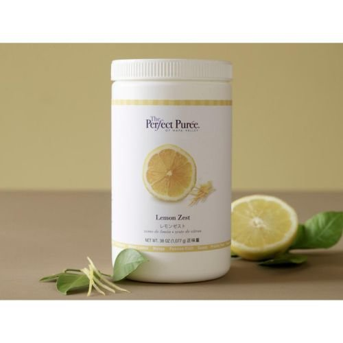 The Perfect Puree Lemon Zest, 35 Ounce -- 6 per case. by Perfect Puree (Image #1)
