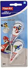 Tipp-Ex Mario Kart Mini Pocket Mouse Cintas correctoras 6 m x 5 mm – Decoraciones surtidas, blíster de 2