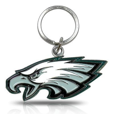 NFL Philadelphia Eagles Chrome Key Chain