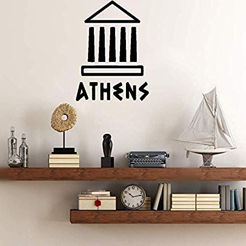 - Bro Decals Wall Vinyl Decal Bedroom Love Acropolis of Athens Vinyl Decor Sticker Home Art Print BR8096