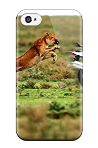 High Quality ElsieJM Funny Zebra Desktop Skin Case Cover Specially Designed For Iphone - 4/4s