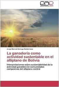 La ganadería como actividad sustentable en el altiplano de Bolivia