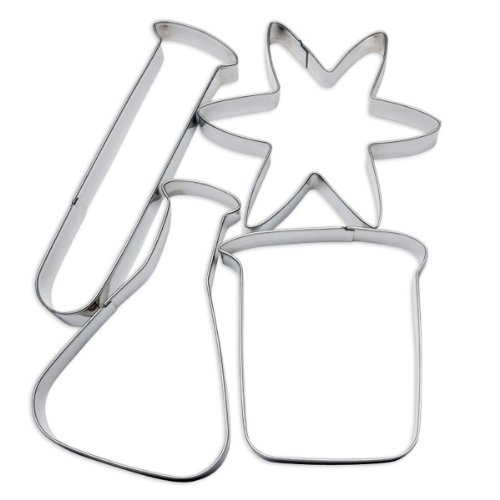 ComputerGear-Science-Cookie-Cutters-Lab-Chemistry-STEM-Cutter-Set-4