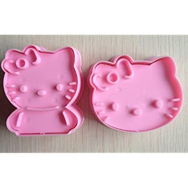 DM c001 Hello Kitty Cookie Cutter Cake Mould Mold-Pink, M