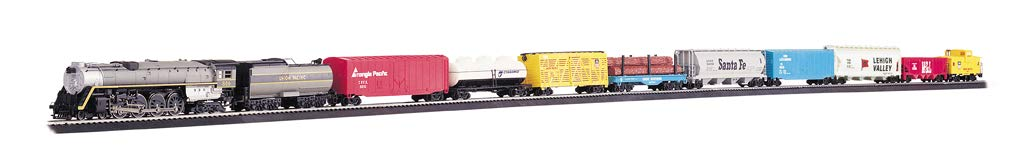 Bachmann Trains - Overland Limited Ready To Run Electric Train Set - HO Scale by Bachmann Trains