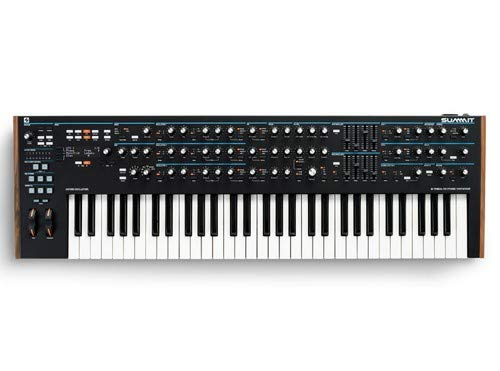 Novation Summit Two-Part 16-Voice 61-Key Polyphonic Synthesizer