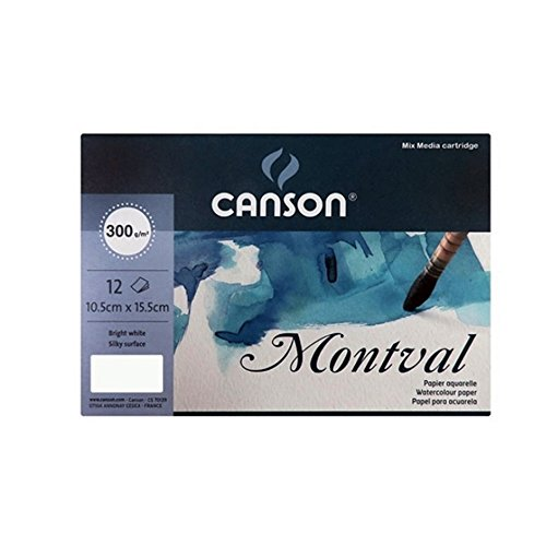 CANSON Montval Watercolor Postcards 140lbs 4