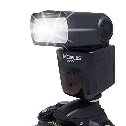 Mcoplus MCO-430 i-TTL Auto-Focus Flash Speedlite for Nikon DSLR Camera D300 D300S D200 D90 D80 D70 D70S D60 D40 D40x+Full Frame D800 D700 D610 D600 D4S