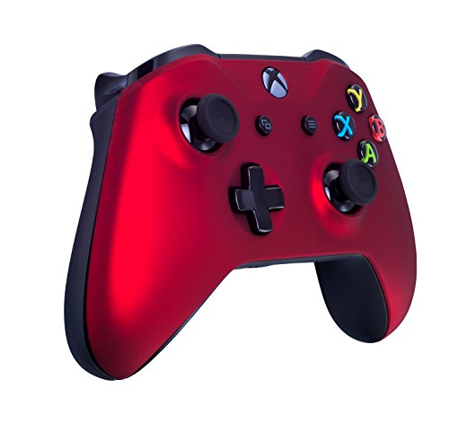 Xbox One Soft Touch Wireless Controller (Red)