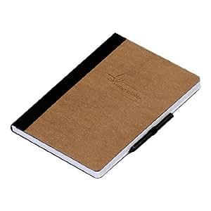 Pagna - Libreta, diseño natural (A5, con líneas, 192 páginas)