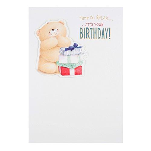 Hallmark Forever Friends Birthday Card 'Time to Relax' - Medium