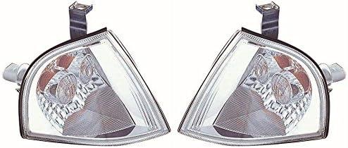Xenons Online Skoda Octavia Mk1 2001-7//2004 Crystal Clear Front Indicators 1 Pair O//S /& N//S