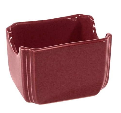 Fiestaware Cinnabar 479 Sugar Packet Caddy 479-102