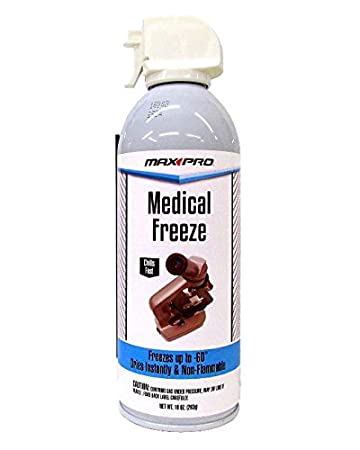 Medical Freeze Spray - Max Professional - 10 Ounce Unit - Superior R134  Refrigerant - General