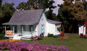 Woodland Scenics N Scale Pre-Fab Building/Structure, used for sale  Delivered anywhere in USA