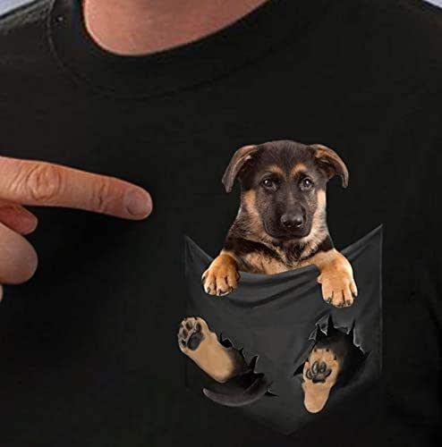 amazon com  german shepherd inside pocket t