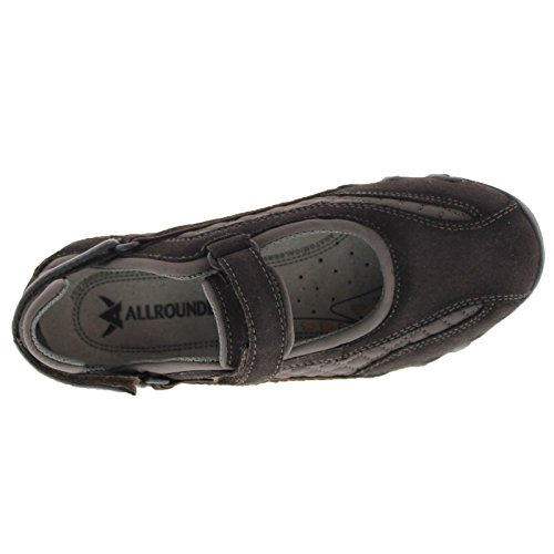 Allrounder Dames Niro Diamanten Suede Sneakers Lavagna