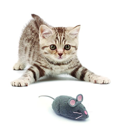 HEXBUG Mouse Robotic Cat Toy (GREY)