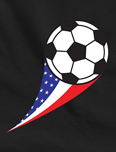 TeeStars - USA Team Soccer Ball American Flag Cute Toddler/Infant Kids T-Shirt