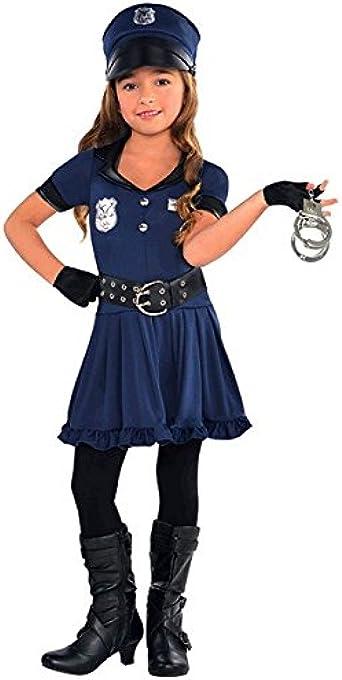 Cop Cutie Police Officer Girls Child Costume