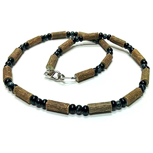 Pure Hazelwood Necklace Snowflake Obsidian for Adults Therapeutic A11 (16
