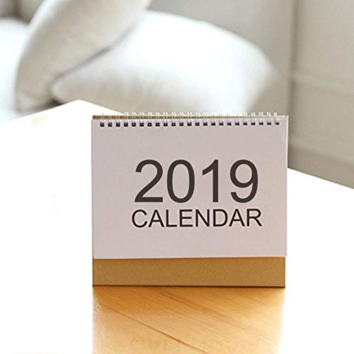 (total-shop Desk Calendar 2019 Planner 2019 Desk Calendar Calendar Planner 2018-2019 Stand Up Office Table Planner Desk-Top Flip Calendar)