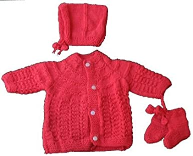 082b2420b los angeles b5bfd 0270a newborn baby sweater set for infant girl boy ...