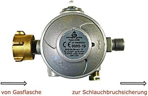Regulador de gas de 50 mbar para cocina de gas, nevera de ...