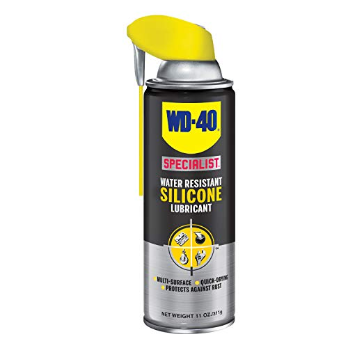 WD40 Company 300012 Specialist Silicone Spray Smart Straw - 11 oz.