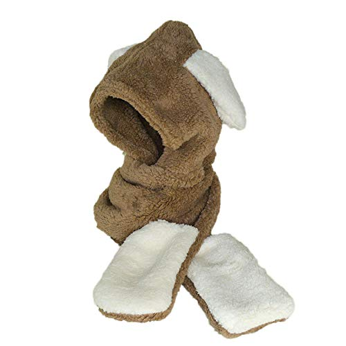 Clearance Womens Faux Fur Winter Warm Fluffy Hood Scarf for sale  Delivered anywhere in USA