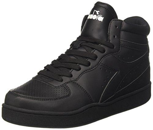 Diadora Aire De Jeux Unisexe Adulte Sneaker Haut, Noir (nero 80013)