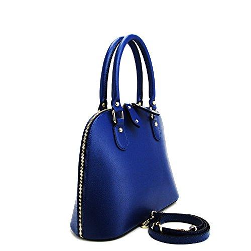 Cruzados Mujer Piel N De Azul Para Bolso amp;n nWxxzFTES