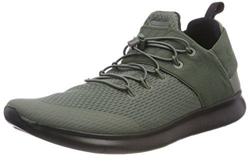 (Nike Mens Free Rn CMTR 2017 Low Top Bungee Running Sneaker, Tan, Size 8.5)
