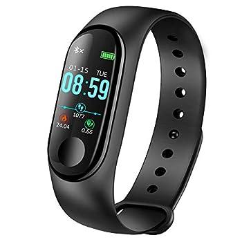 LIGE – Reloj inteligente de actividad con podómetro, monitor de ritmo cardíaco, monitor de sueño, contador de calorías, pulsera inteligente para hombres, mujeres y niños + regalo Deportes y Actividad Física Ejercicio y Acondicionamiento Físico Monitores de Acondicionamiento Físico Tecnología para Acondicionamiento Físico