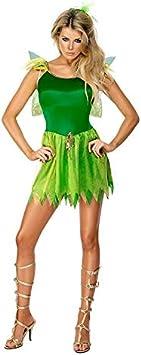 DISBACANAL Disfraz de Campanilla Sexy Mujer - -, S: Amazon.es ...