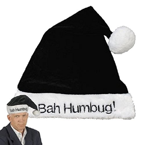 Black Humbug Scrooge Holiday Christmas
