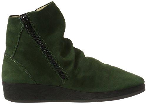 Grün Boots Ayo Womens Green 411 Leather Nubuck Softinos Dk wqAWBCw
