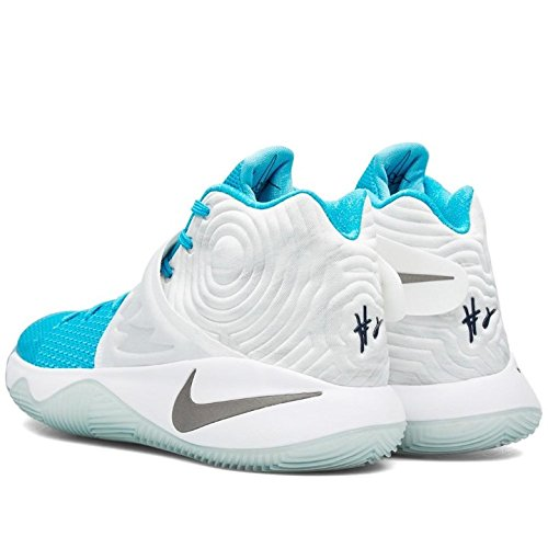 Nike Mens Kyrie 2 Xmas, Bianco / Ossidiana-blu Laguna-omega Blu Bianco, Ossidiana-bl Lgn-omg Bl