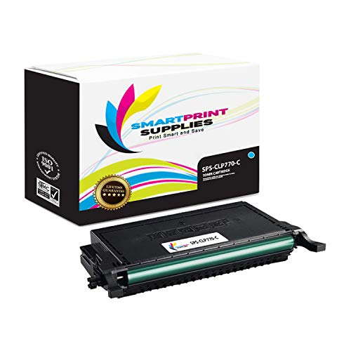 Smart Print Supplies Compatible CLT-C609S CLT-609S Cyan Toner Cartridge Replacement for Samsung CLP-770ND 775ND Printers (7,000 Pages) ()
