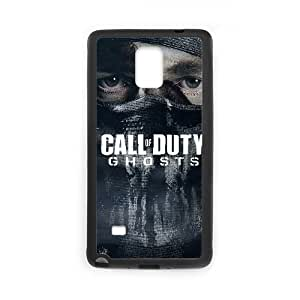 Samsung Galaxy Note 4 Cell Phone Case Black COD Ghosts 2 OJ410799