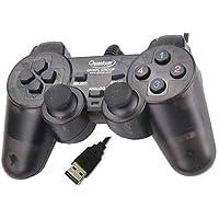 Quantum QHM7468-2V USB 2.0 PC Game Pad Controller (Black)