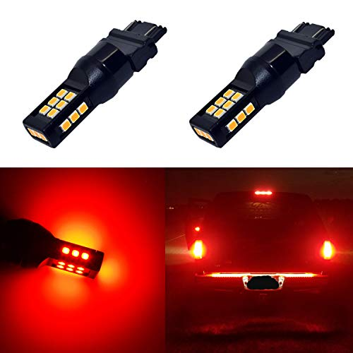 Alla Lighting Xtreme Super Bright T25 3121 3157 LED Bulbs High Power 3035 21-SMD LED 3157 Bulbs 3057 3457 4157 4057 LED Turn Signal Brake Stop Tail Light