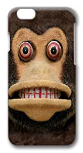 Children's Big Face Cymbal Monkey Custom iphone 6 plus 5.5 inch Case Cover Polycarbonate 3D