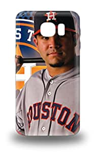 High Quality MLB Houston Astros Jose Altuve #27 Skin Case Cover Specially Designed For Galaxy S6
