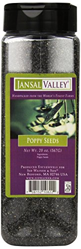 Jansal Valley Poppy Seeds, 20 Ounce by Jansal Valley