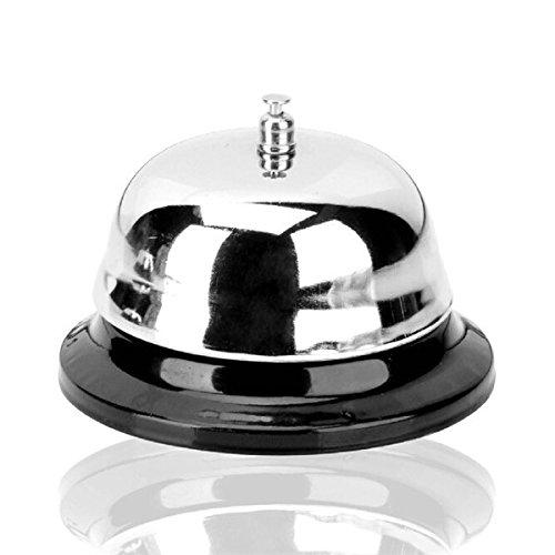 lautechco® Bar Bell Pantry Bell Recordatorio Call Bell inoxidable Barra de herramientas herramienta de cocción de...