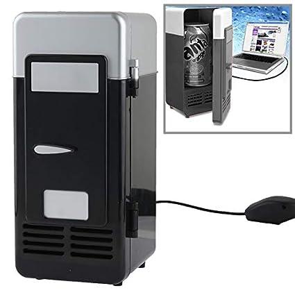 Mini USB PC Nevera Bebidas/Latas de bebidas Enfriamiento ...
