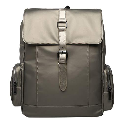 DDKK bags Hot Sale!New Outdoor Leather Retro Rucksack Backpack College Bag,School Picnic Bag Travel-Canvas Backpack Leather Laptop School Military Bag-Large Capacity Shoulders Bag ()
