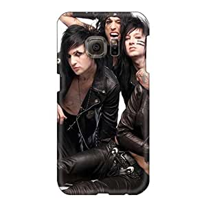 Samsung Galaxy S6 VIY15858vQpi Custom Fashion Black Veil Brides Band BVB Pictures Shock Absorbent Hard Cell-phone Cases -SherriFakhry